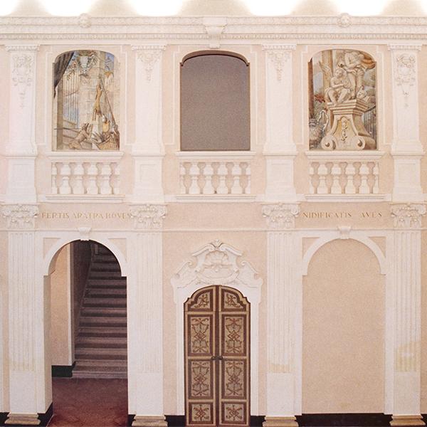 02-restauro-architettonico-villa-padronale-rinascimentale-mantova-canicossa-salone-doppia-altezzza
