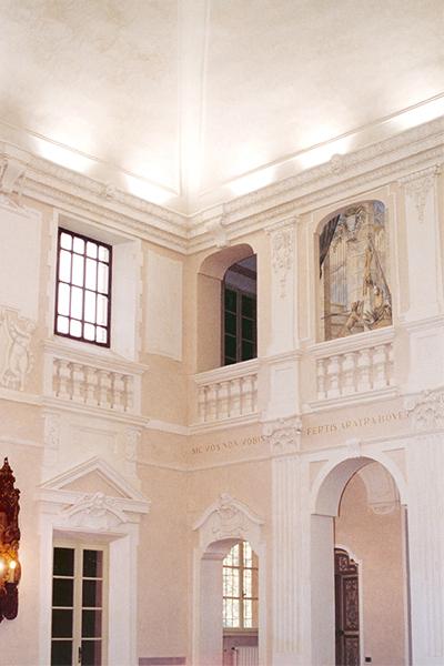 03-restauro-architettonico-villa-padronale-rinascimentale-mantova-canicossa-salone-doppia-altezzza
