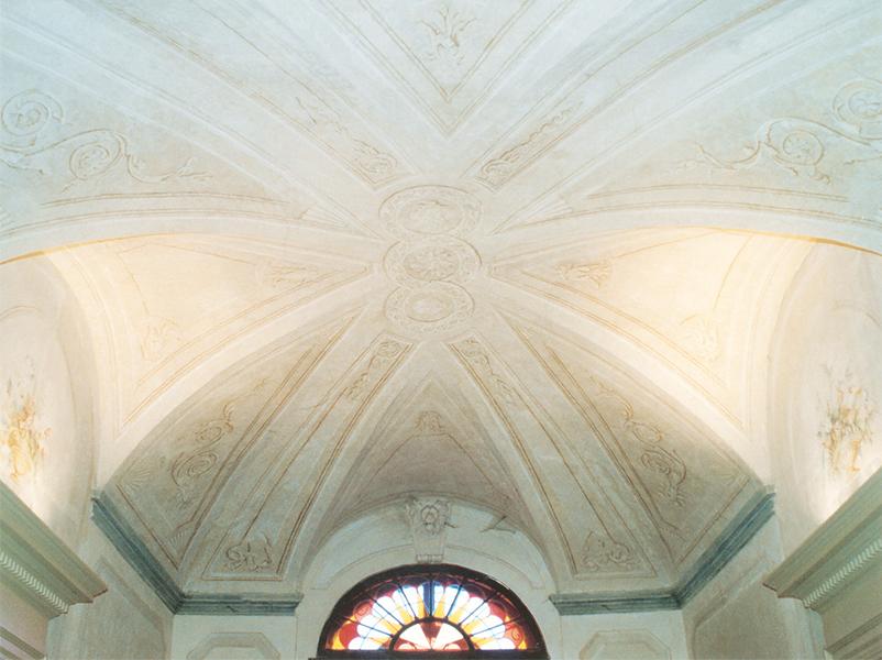 06-restauro-architettonico-villa-padronale-rinascimentale-mantova-canicossa-salone-affreschi-volte