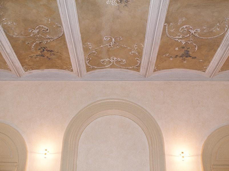 10-restauro-architettonico-villa-padronale-rinascimentale-mantova-canicossa-salone-affreschi-volte